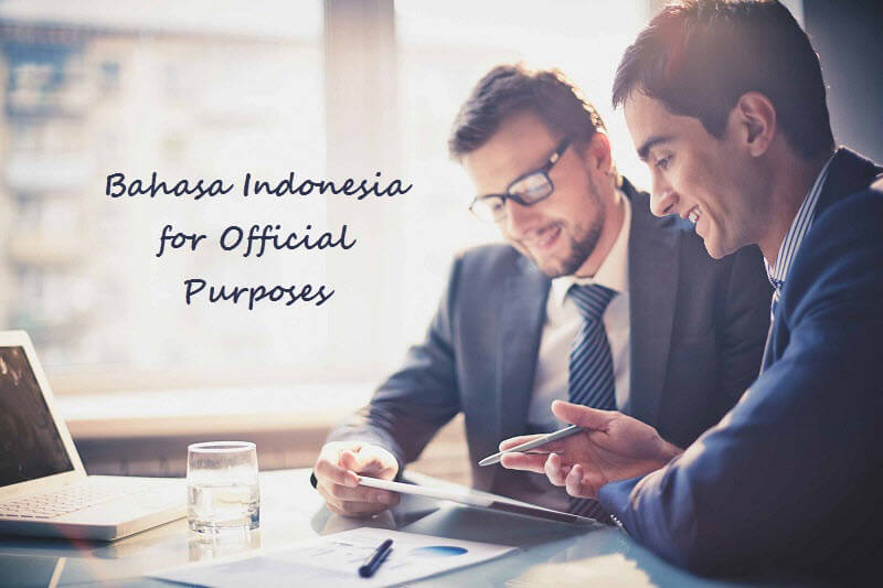 Translating Bahasa Indonesia for Official
