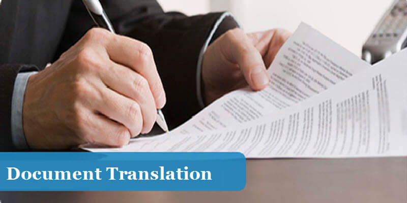 Translation Options for Translating a Document