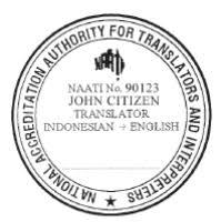 NAATI certified