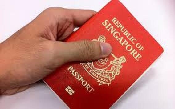 Singaporean recently took citizenship pledge