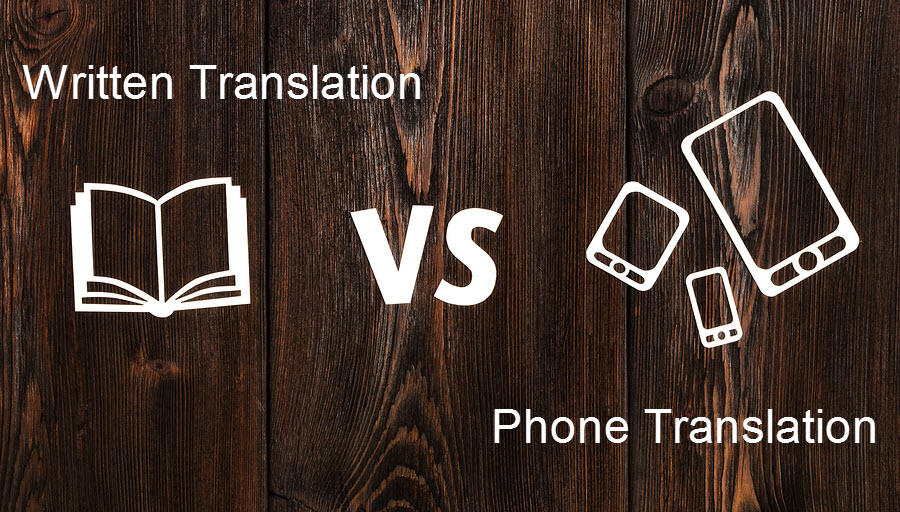 Written vs Phone Translation